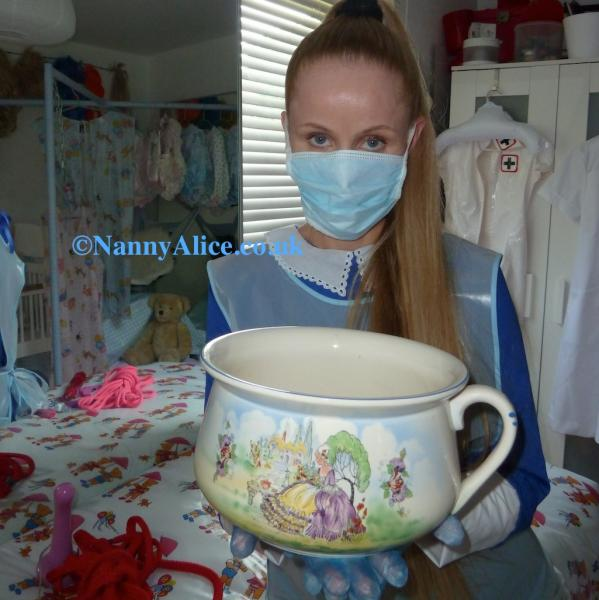 Chamber Pot Nanny Alice S Nursery Adult Babies