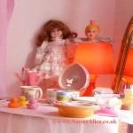 AB Nursery dressing table, London UK