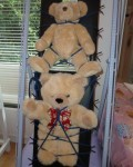 Oh dear, look what has happened to the teddies!