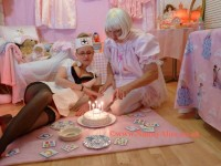 'What an enchanting Birthday Cake' - AB Nursery, London, UK