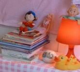 Noddy, Cindy, Mommy duck.... in the Nursery, London UK