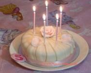 'Birthday Cake' for AB in the Nursery, London UK