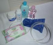 Disposable enema kits available.