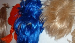 ... And more wigs, just look at those colours.